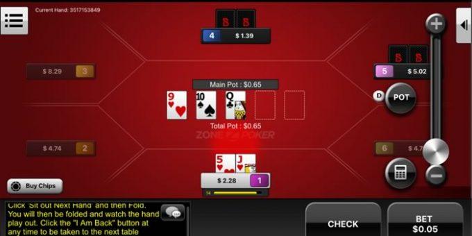 Unduhan poker seluler Bovada